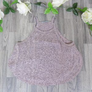 Charlotte Russe knit style crop top open sides
